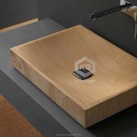 New design sandstone rectangular new model wash basin