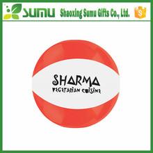 logo printed promotional branded beach balls