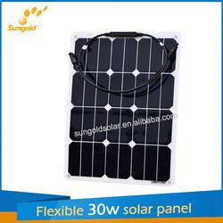 Sungold new design flexible panel solar for home use