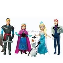 Plastic cake topper figurine,Plastic Frozen party wedding cake topper, chinese wedding cake topper