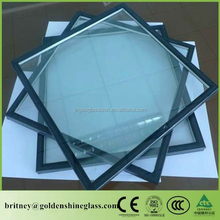 Jinyao Factory Whole Sale Large Commercila Building Curtain Wall Or Interior Window/Door Tempered Low-e Insulated Glass