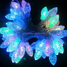 2015 hot sell RGB pinepone shaped new style led christmas lights