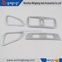 Matte Chrome Air Vent Cover for 2015 Subaru Outback Chrome Interior Accessories