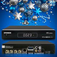 transmitter receiver Openbox V8 combo satellite receiver satellite receiver software download