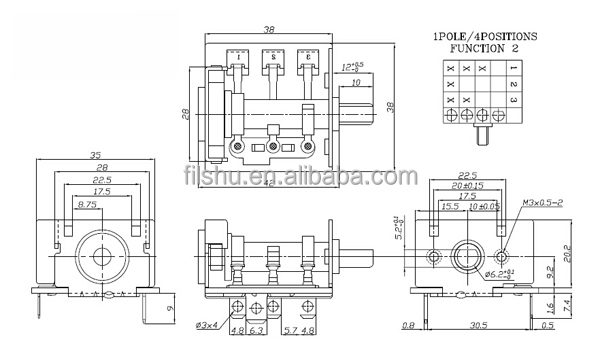 Wiring Diagram For Bremas Switch : Bremas rotary cam switch oven for a v