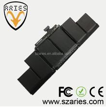 Shenzhen Original Notebook Battery For Macbook A1398 A1417