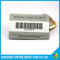 2015 hot sale customized PVC plastic card with serial number printing