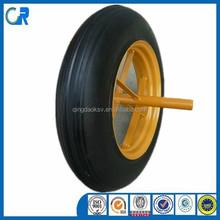 Professional factory cheap 14x4 wheel barrow solid wheel