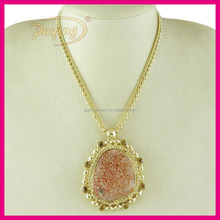 fashion statement necklace,necklace plain chain,zinc alloy necklace