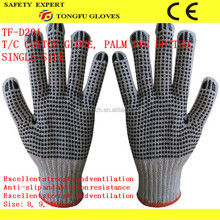 China Wholesale China dotted cotton gloves&pvc dotted gloves innovative design