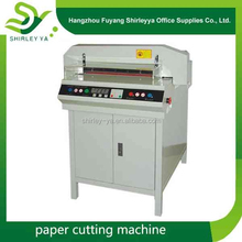 Semi-automatic Digital control paper cutters programmable Foot Paddle