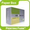 Silver Printed Food Paper Box Packaging