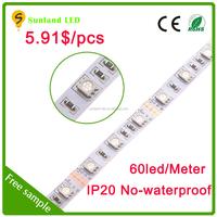 High lumen 5m/roll 5050 led strip 12v