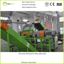 2015 High profit (mexico rubber crumb plant) waste tire recycling machine