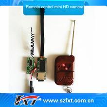 RF 433MHZ Remote Control Realtime 720p 30fps Digital Video Record Micro Camera De Espia,Support 32gb micro sd card