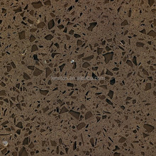 Artificial quartz stone CQ-517 Coffee