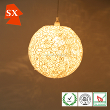 fashion glass mosaic bali custom handicaft lace lamp shades lighting