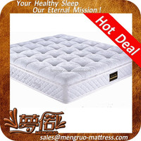 sleep well hotel king size double side pillow top mattress