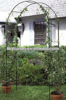Steel decorated garden arch economical type (real factory directly supply)