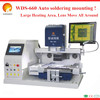 Factory Outlet ! Optical alignment bga rework station WDS-660 Super Large infrared preheating rework bga