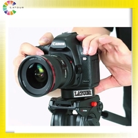 China new flexible tripod mount head for DSLR camcorder video camera shooting quick release plate mount head