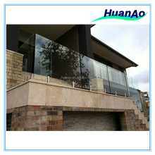12mm high quality building tempered glass pool fence outdoor banister