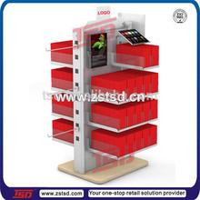 TSD-M545 men's underwear display, retail store floor standing underwear display rack
