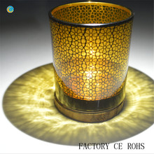 new design in canton fair candle glass jar