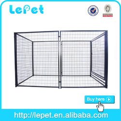 large outdoor wholesale outdoordog kennel with a-frame top