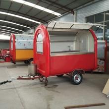 CE OEM fast food vending cutome design trailer/carts/kitchen/van/ kiosk truck mobile work shop station for sale