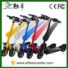 Hand brake 2 wheel adult electric board cheap folding 2 wheels balance moped