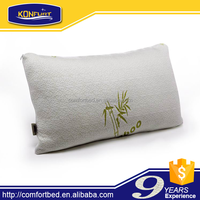 Bamboo Shredded Memory Foam Pillow bamboo fibre cover rolled pack