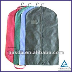 Eco breathable pp non woven suit dress covers