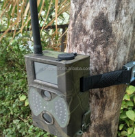 2.0 inchLCD display GSM MMS Email12MP Trail Camera 940nm invisible black LED battery operated wireless remote camera