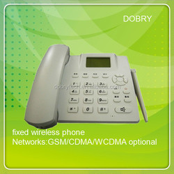 Good price! GSM or cdma desk phone 450MHZ 800MHZ with FM radio multi-language