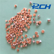 High Quality Big Current Electrical Trimetal silver contact point for relay
