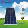 Energy saving high power 18v 140w polycrystalline solar panel
