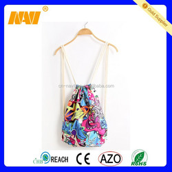 Cheap Custom Drawstring Backpack Bags Canvas Bags