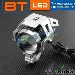 Mini Led Transformer U5 Projector Caes and Motocyles Working Headlight Kit With Long Time Use