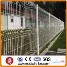Hot sale decorative nylofor 3d curved welded wire mesh fence