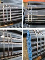 lined pipe astm a106 feeding water steel pipe