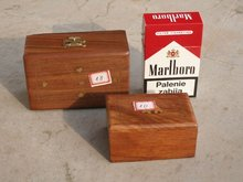 wooden card box (handicrafts)