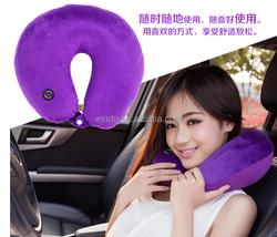 Microfiber Massage Neck Pillow