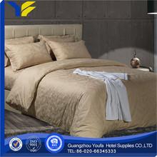 wedding manufacter polyester/cotton fashion striation lovely little bear printed bedding set