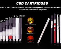 newest product factory price bud touch vaporizer pen wholesale boge 510 cartomizer