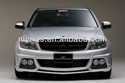Good Quality Body Kit For Mercedes Benz C Class W204 Wald Style FRP Fiber Glass Car Bumper Body Kit