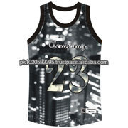 American style basketball vest 2013