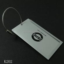 Fashion Design High Quality Aluminium Alloy Luggage Tag
