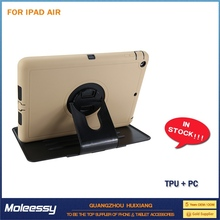 Inexpensive hard pc plastic shell case for ipad air
