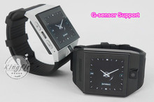 China Factory Price Smart Watch Android 2014 Hand Watch Mobile Phone Dual Core Dual Standby with G Sensor